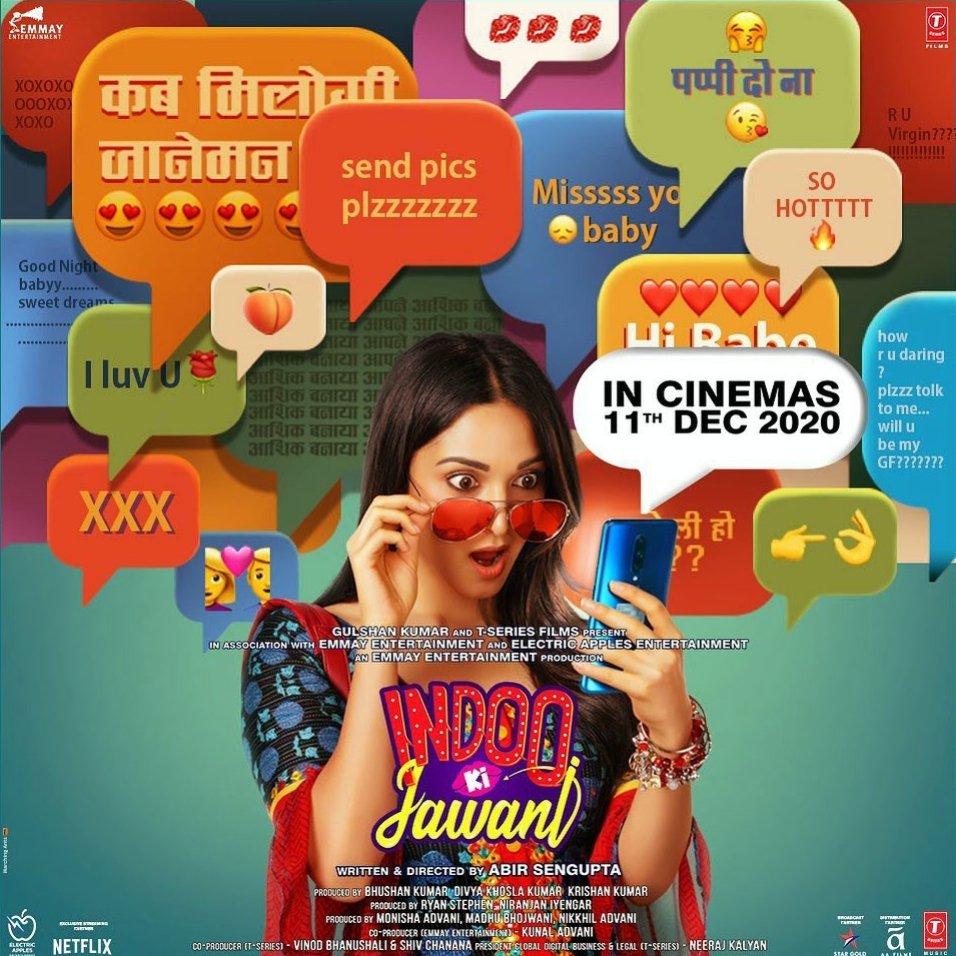Indoo Ki Jawani new poster