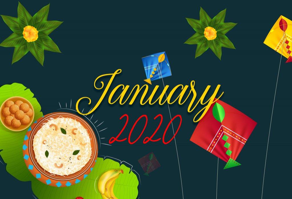Jan 2020 festivals list