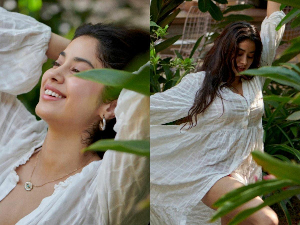 Janhvi Kapoor shares her happy Saturday vibes
