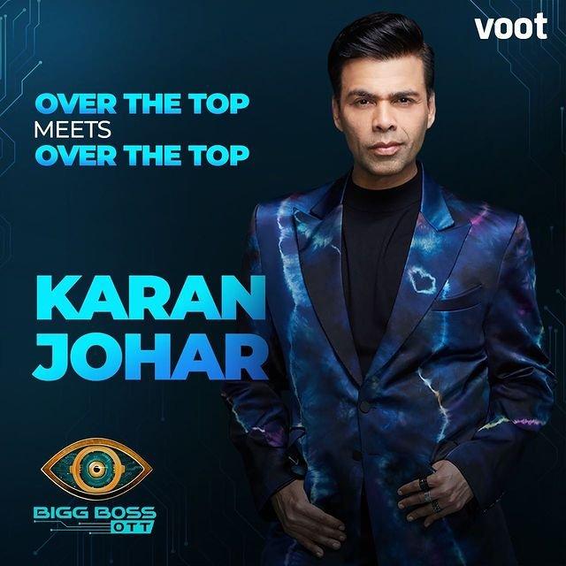 Karan Johar to host Bigg Boss OTT on Voot