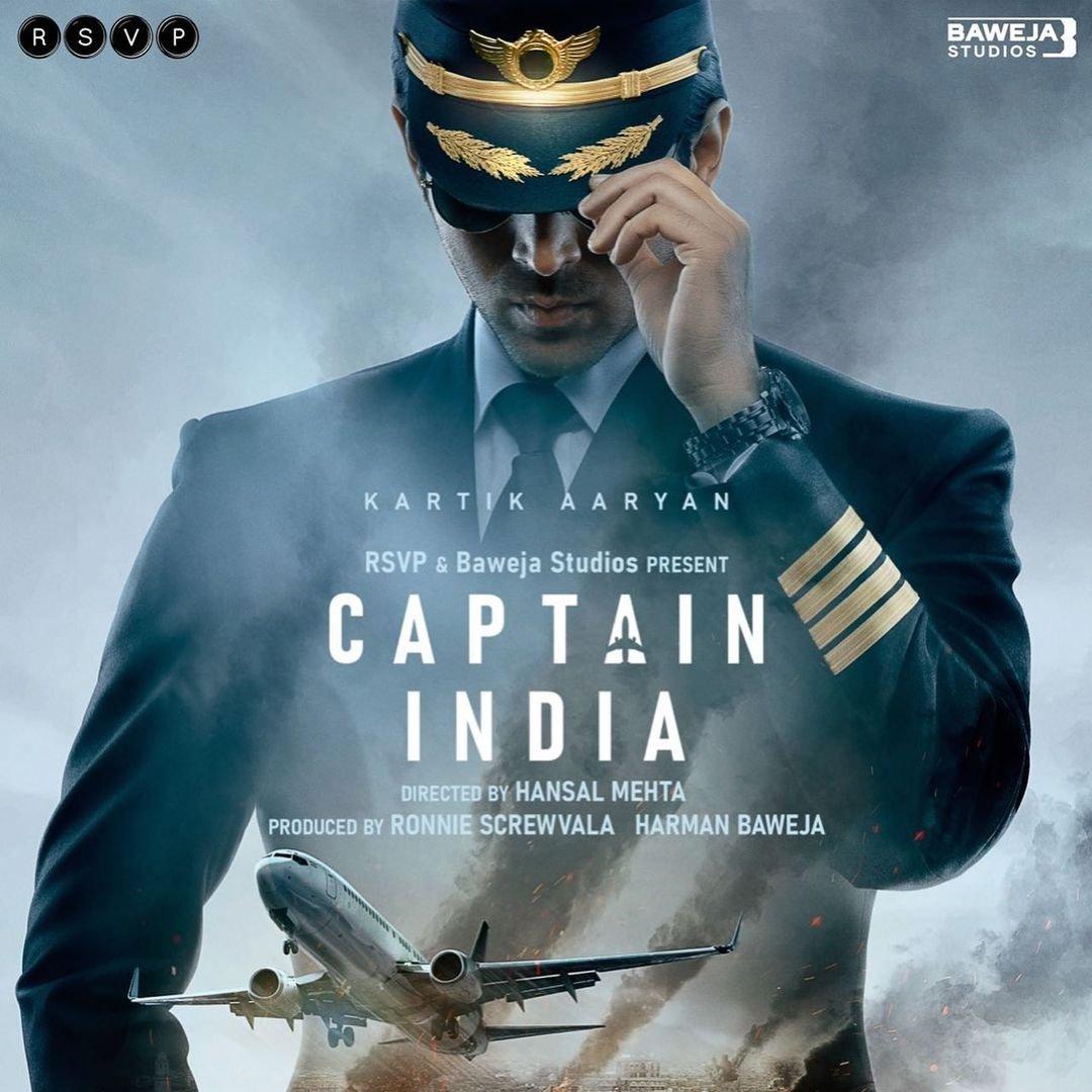 Kartik Aaryan in Captain India