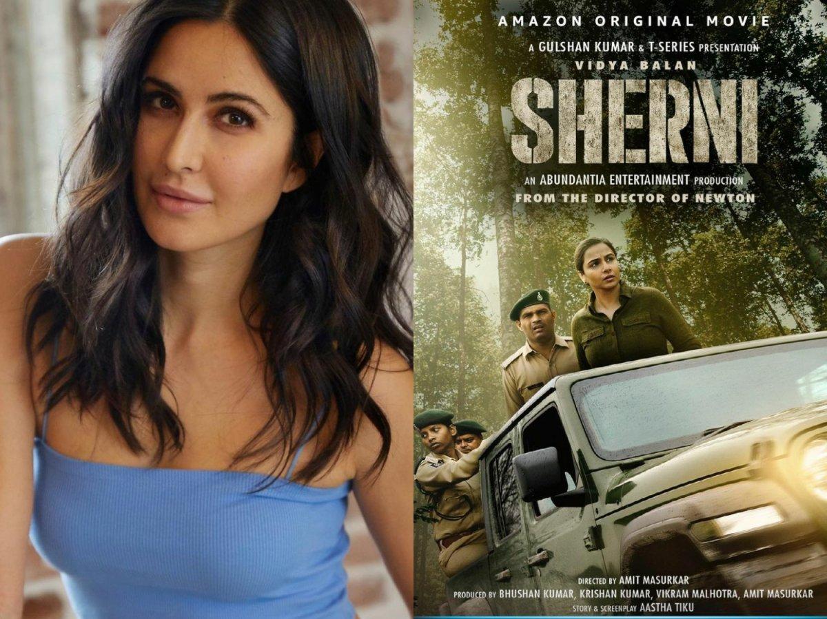 Katrina Kaif impressed with Sherni and Vidya Balan's performnce