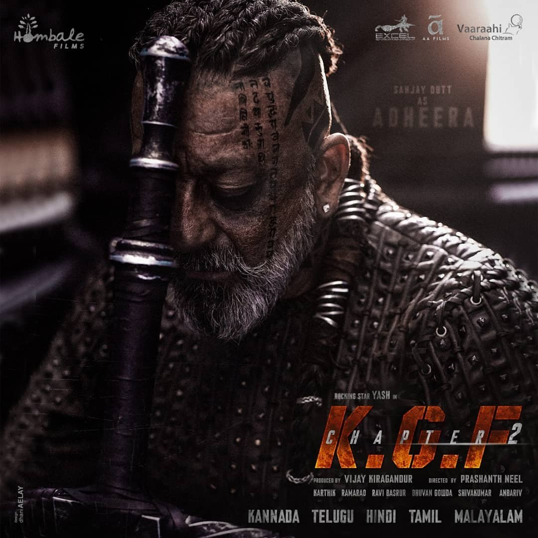 KGF Chapter 2: Sanjay Dutt Poster