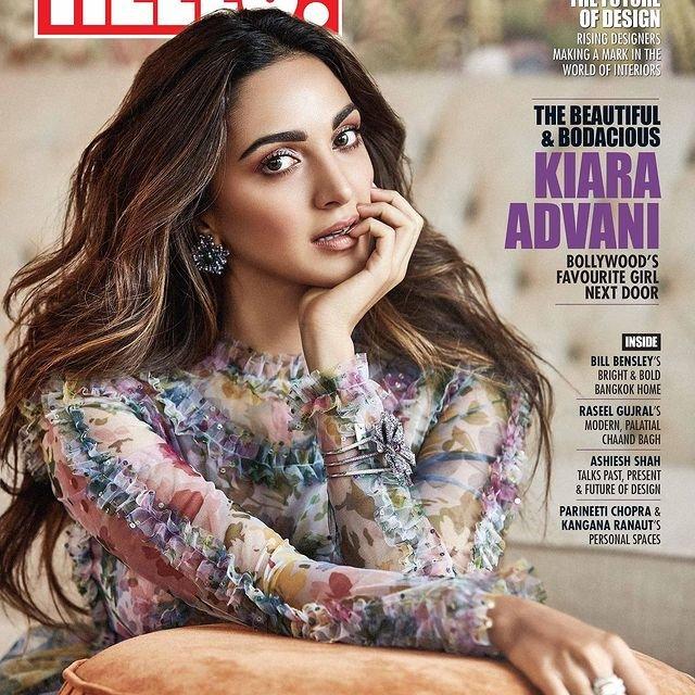 Kiara Advani becomes the cover girl for 'Hello! India'