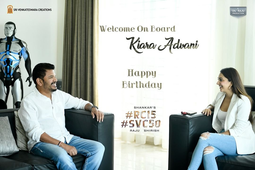 Kiara Advani joins Ram Charan in Shankar's film 'RC 15'