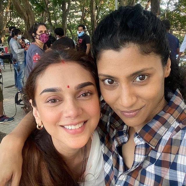Konkona Sen Sharma and Aditi Rao Hydari