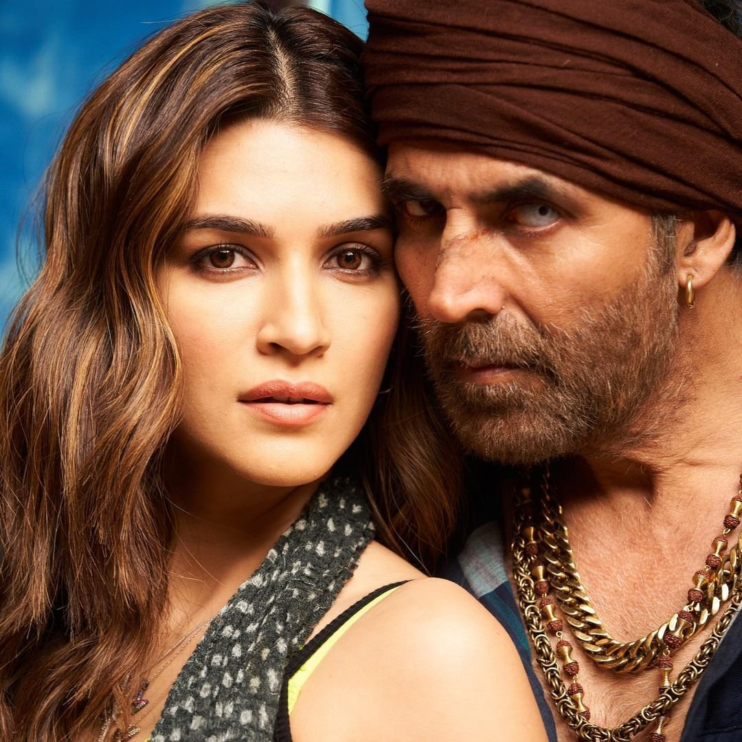 Kriti Sanon drops new picture from Bachchan Pandey