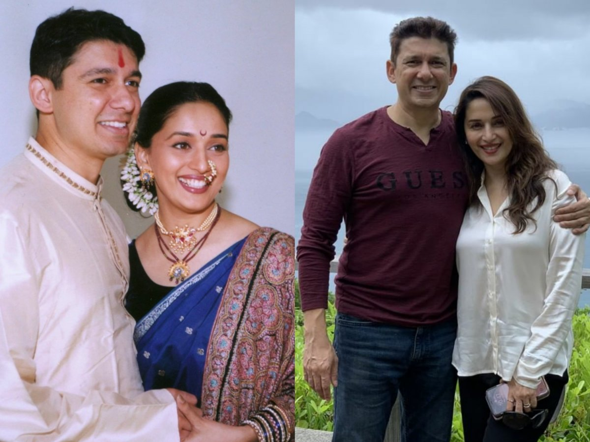 Madhuri Dixit celebrates 21 years of her marriage