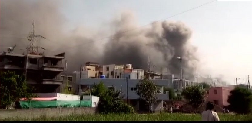 Major fire breaks out in Serum Institute plant in Pune