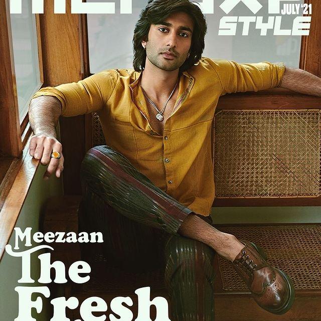 Meezaan Jaffrey becomes the digital cover star for MENSXP magazine