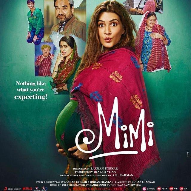 Mimi's premature release! Kriti Sanon's film starts streaming on Netflix