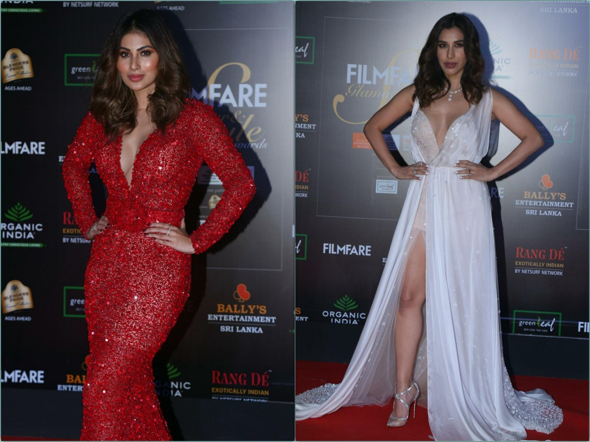 Mouni-Sophie-Choudary-Filmfare Glamour and Style Awards 2019   Dec 2019