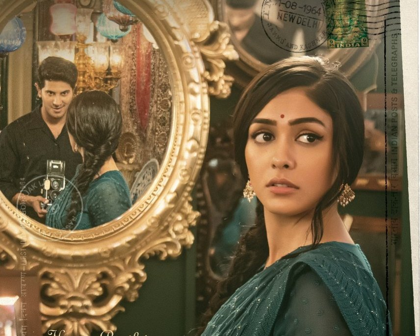 Mrunal Thakur makes her Telugu debut with Dulquer Salmaan's next