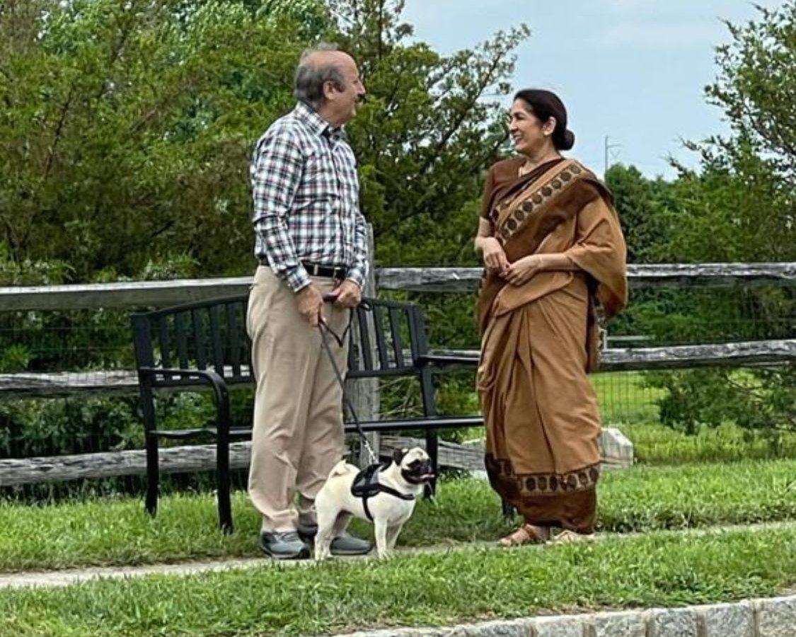 Neena Gupta shares a lovely picture with Anupam Kher