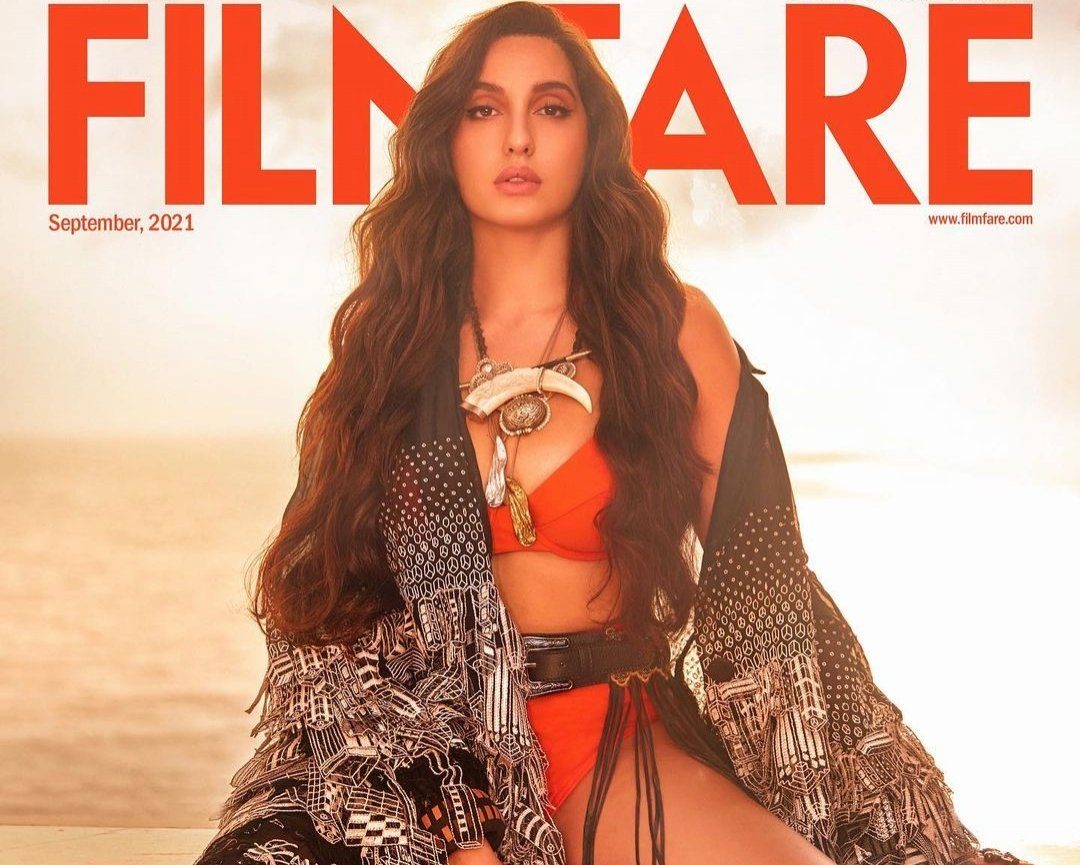 Nora Fatehi slays on the cover page of Filmfare