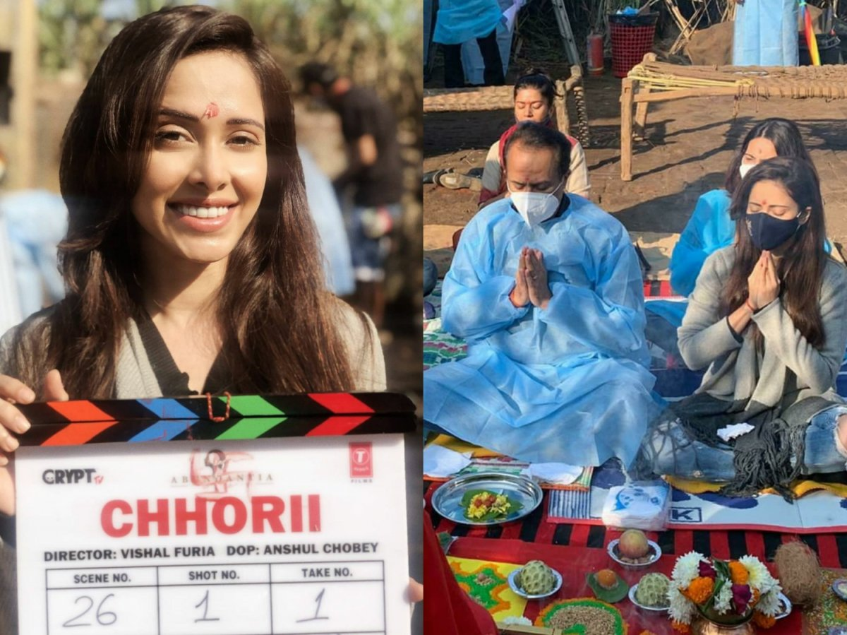 Nushrratt Bharruccha kickstarts shooting for Chhorii