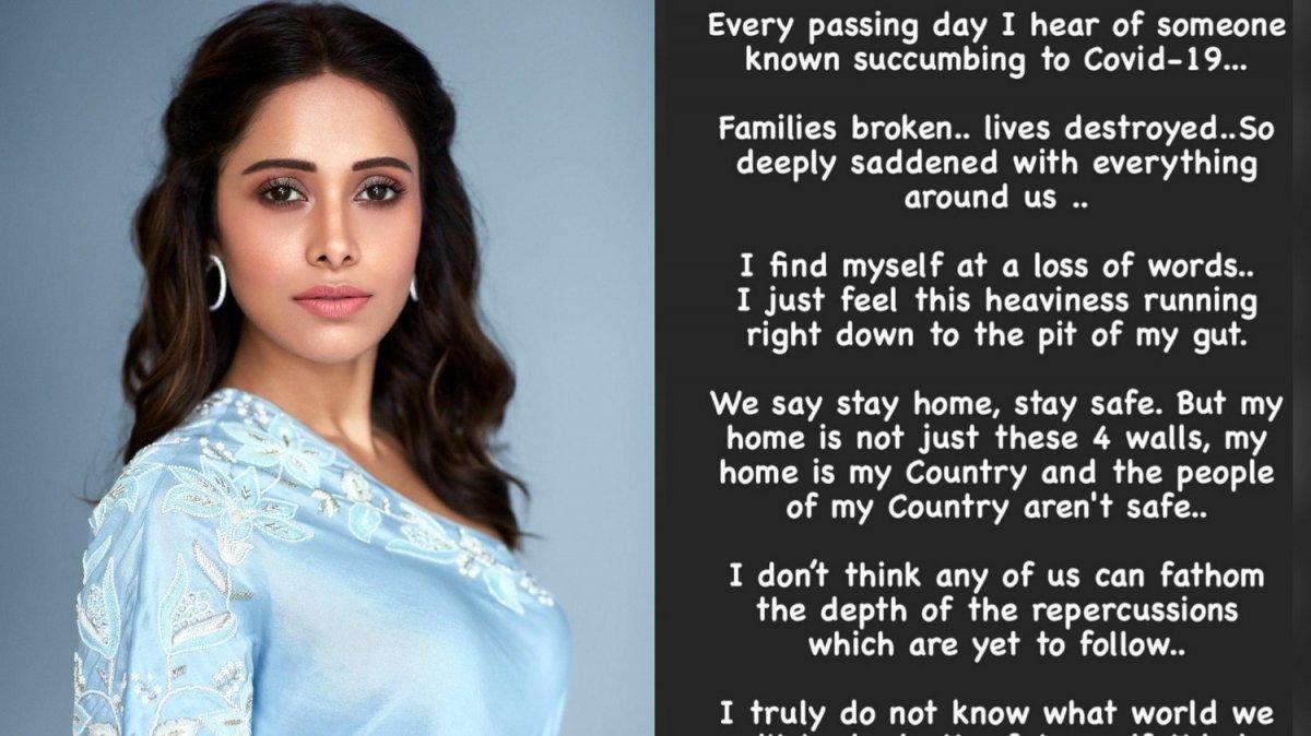 Nushrratt Bharuccha wrote an emotional post