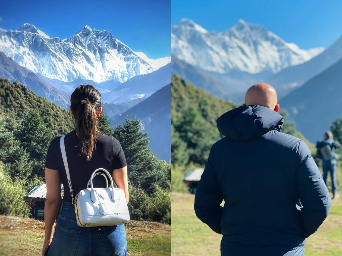 Parineeti Chopra, Anupam Kher are humbled to see majestic Mount Everest