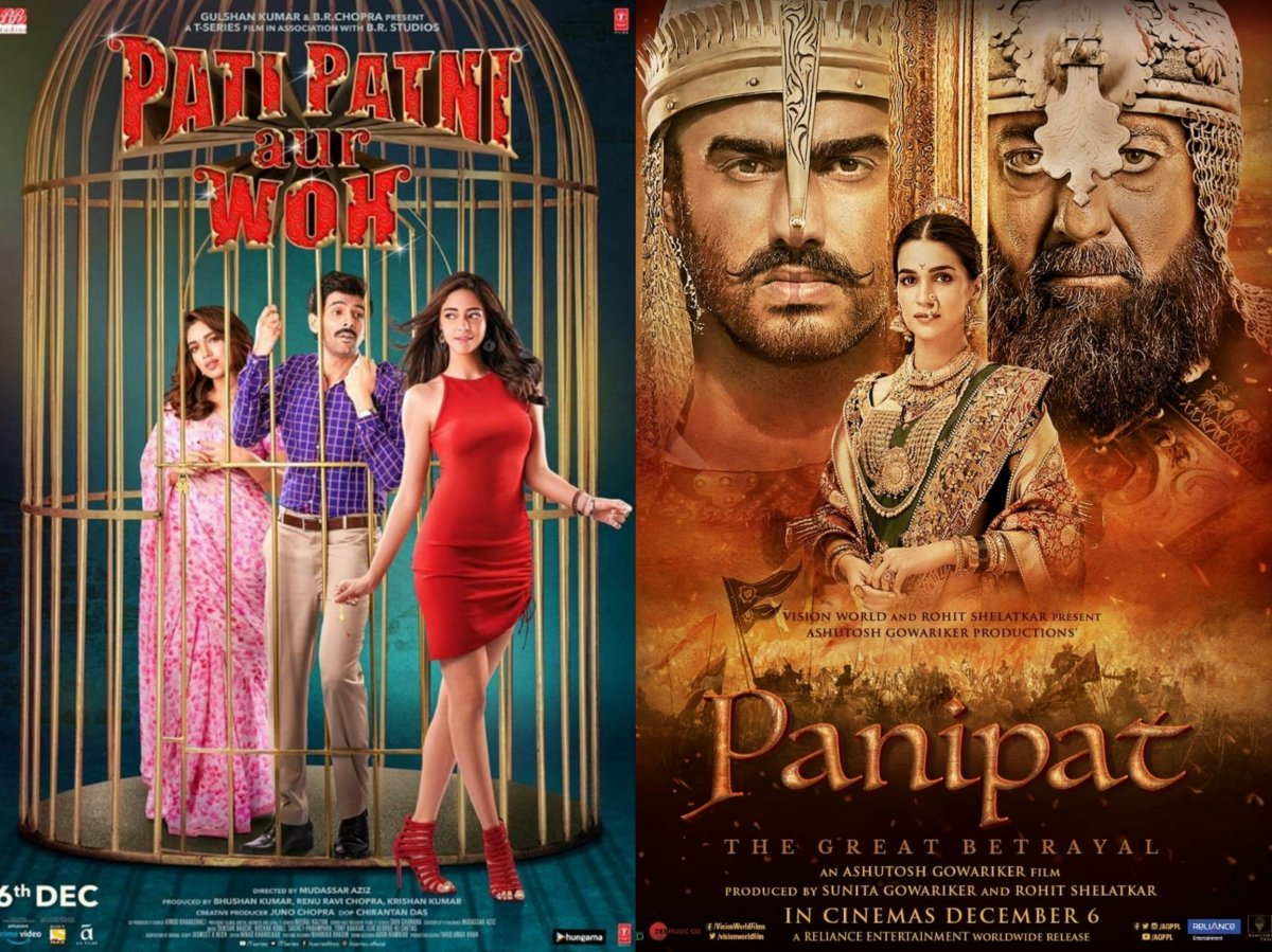 'Pati, Patni Aur Woh' surpasses 'Panipat' collections at the box-office on day 1