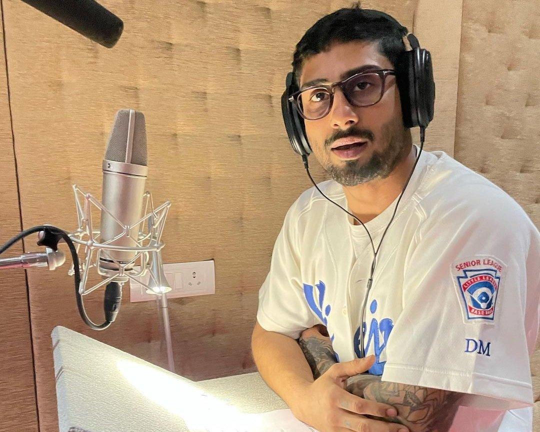 Prateik Babbar starts dubbing for India Lockdown