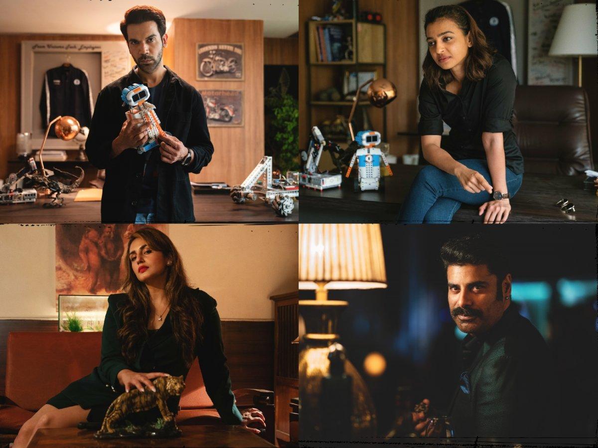 Rajkummar Rao, Radhika Apte, Huma Qureshi, Sikandar Kher in Monica, O My Darling