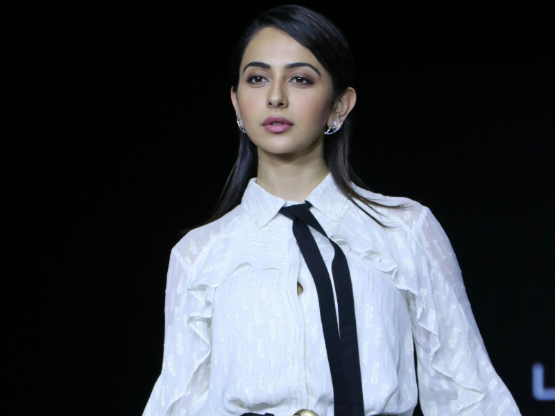 Rakul Preet Singh at the Lakme Fashion Week 2020