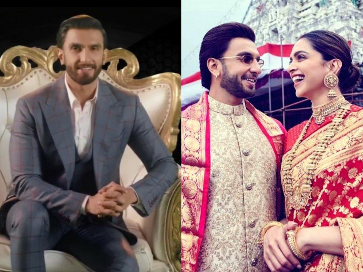 Ranveer Singh fears Deepika Padukone will give him a 'lappad'