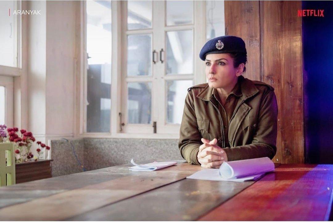 Raveena Tandon is all set to make her digital debut with Aranyak