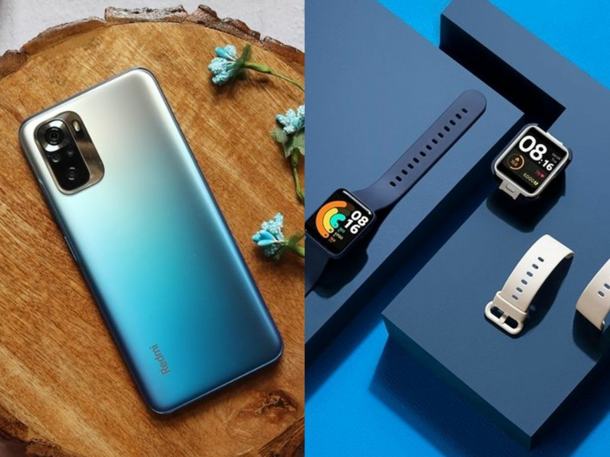 Redmi Note 10S, Watch launched in India