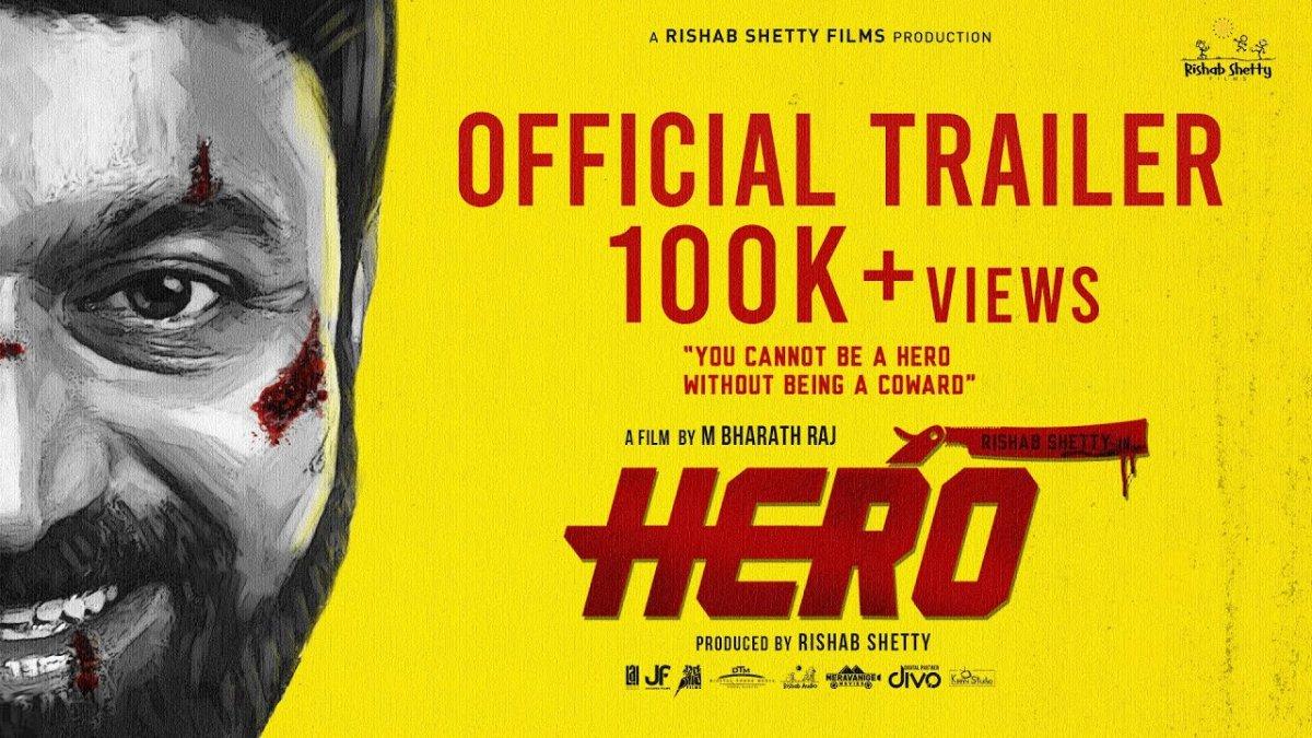 Rishab Shetty starrer Hero trailer is out
