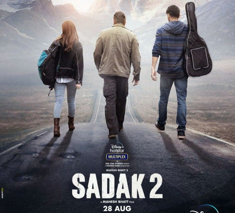 Sadak 2 new poster