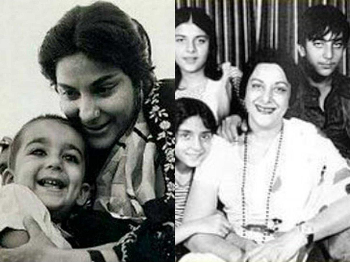 Sanjay Dutt and Priya Dutt remember mother Nargis