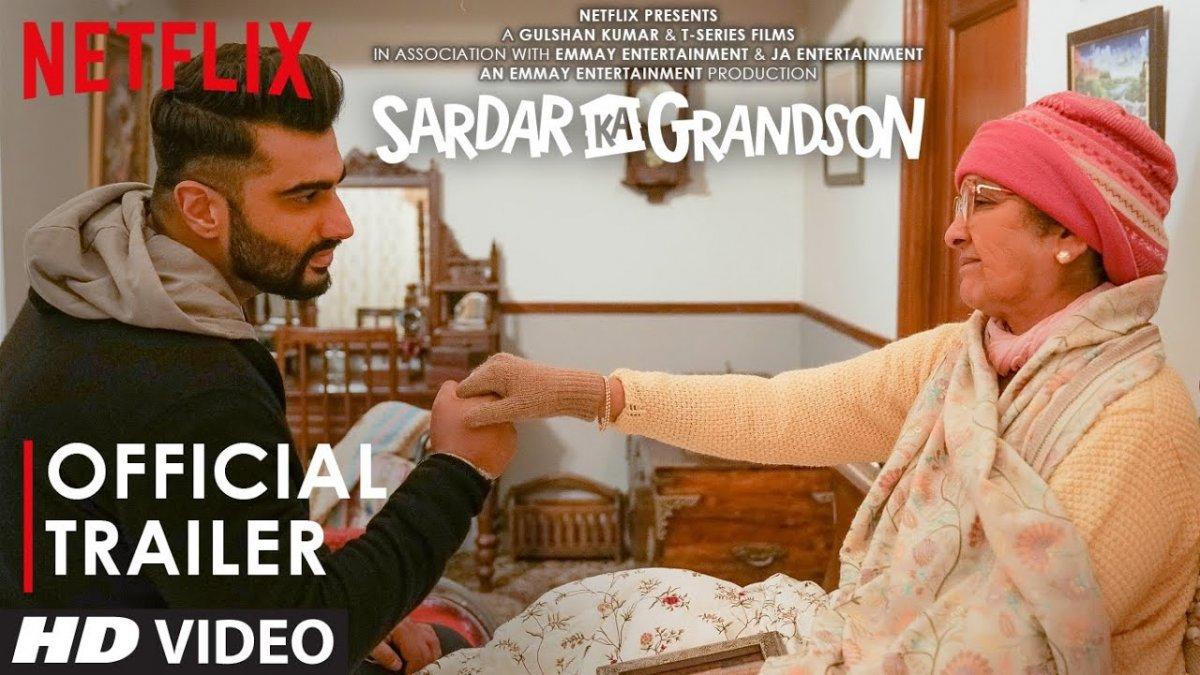 Sardar Ka Grandson trailer