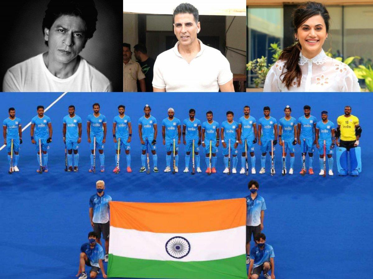 Shah Rukh Khan, Akshay Kumar, Taapsee Pannu laud Indian men's hockey team
