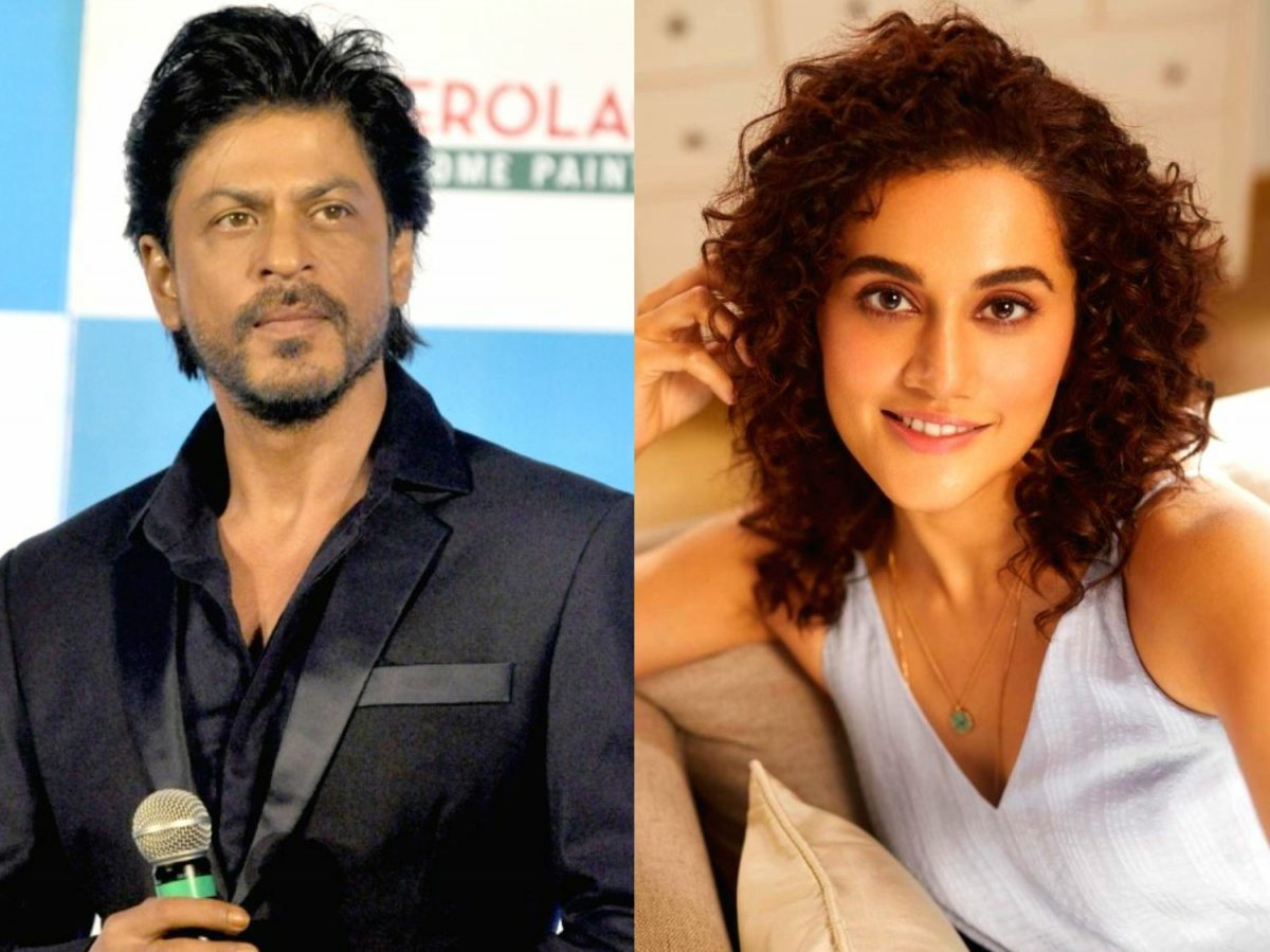 Shah Rukh Khan to team up with Taapsee Pannu in Rajkumar Hirani's film
