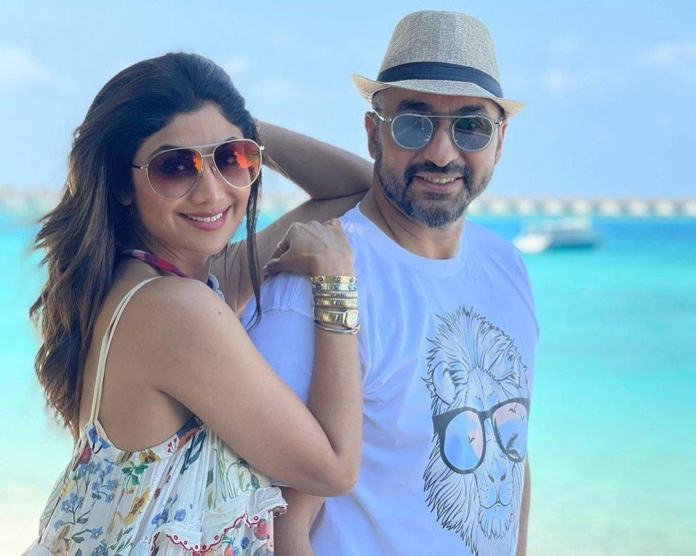 Shilpa Shetty and hubby Raj Kundra are having a blast in Maldives