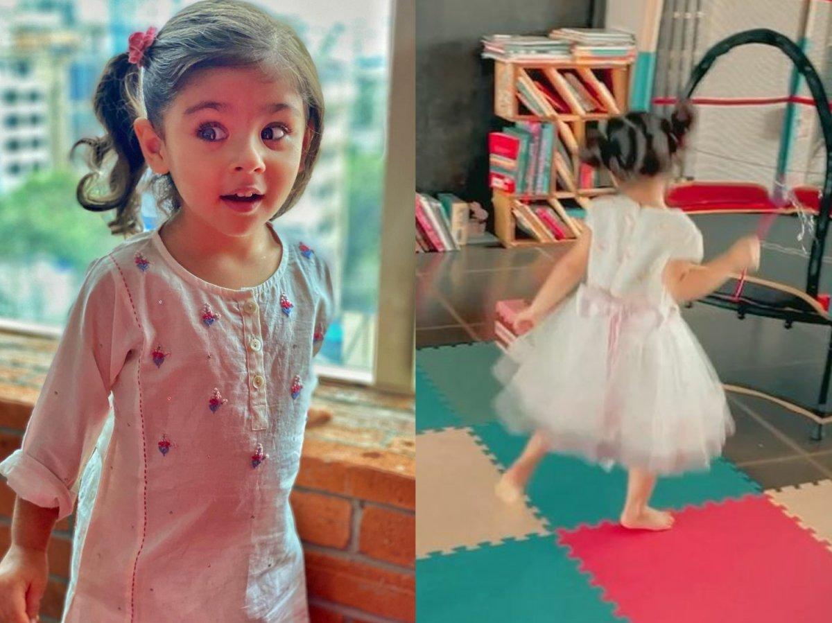 Soha Ali Khan shares Inaaya's cute dancing video
