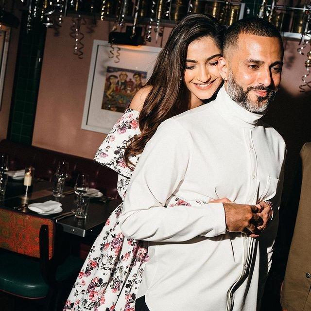 Sonam Kapoor's birthday wish for hubby Anand