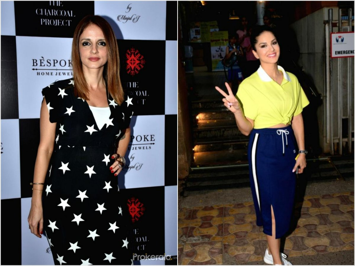 Sunny Leone- Sussanne-Khan spotted