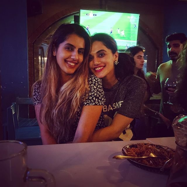 Taapsee Pannu misses sister Shagun on her birthday
