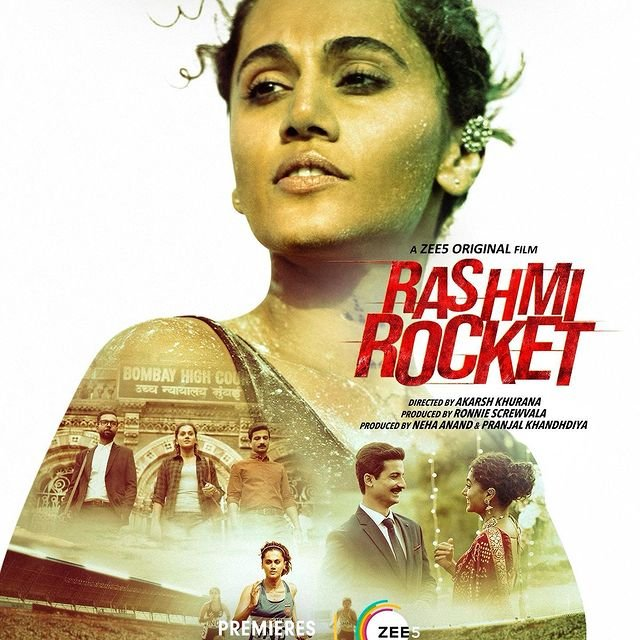 Taapsee Pannu unveils the first look of Rashmi Rocket