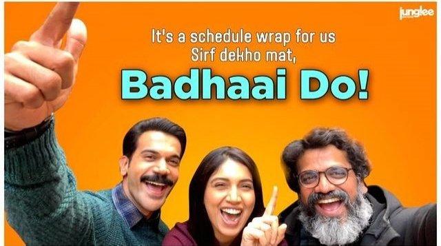 Team Badhaai Do join Pwari Ho Rahi Hai meme trend