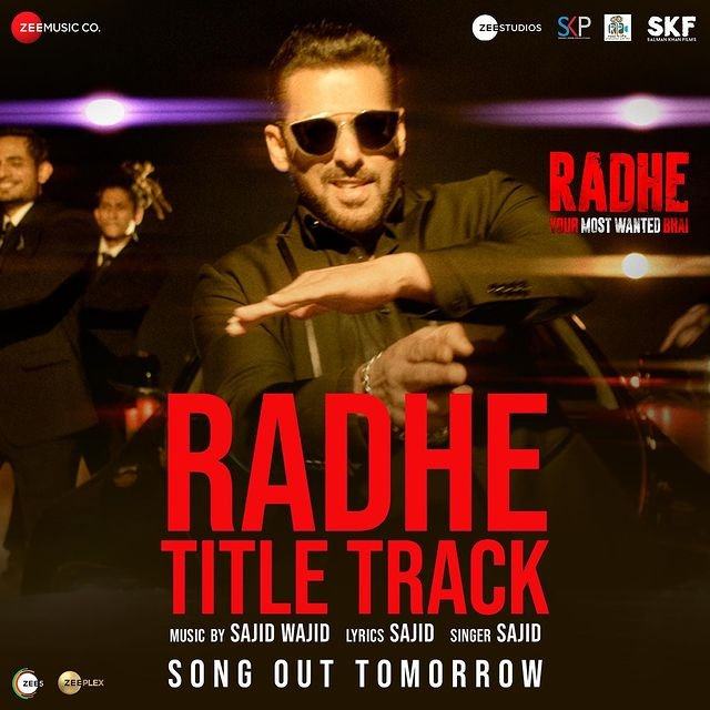 Title track of Radhe - Your Most Wanted Bhai out tomorrow