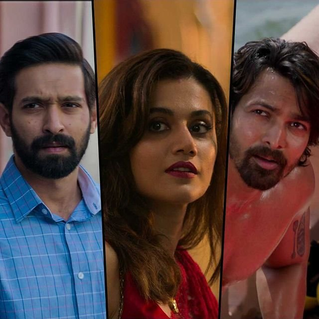 Trailer of Taapsee Pannu, Vikrant Massey's thriller Haseen Dillruba is out