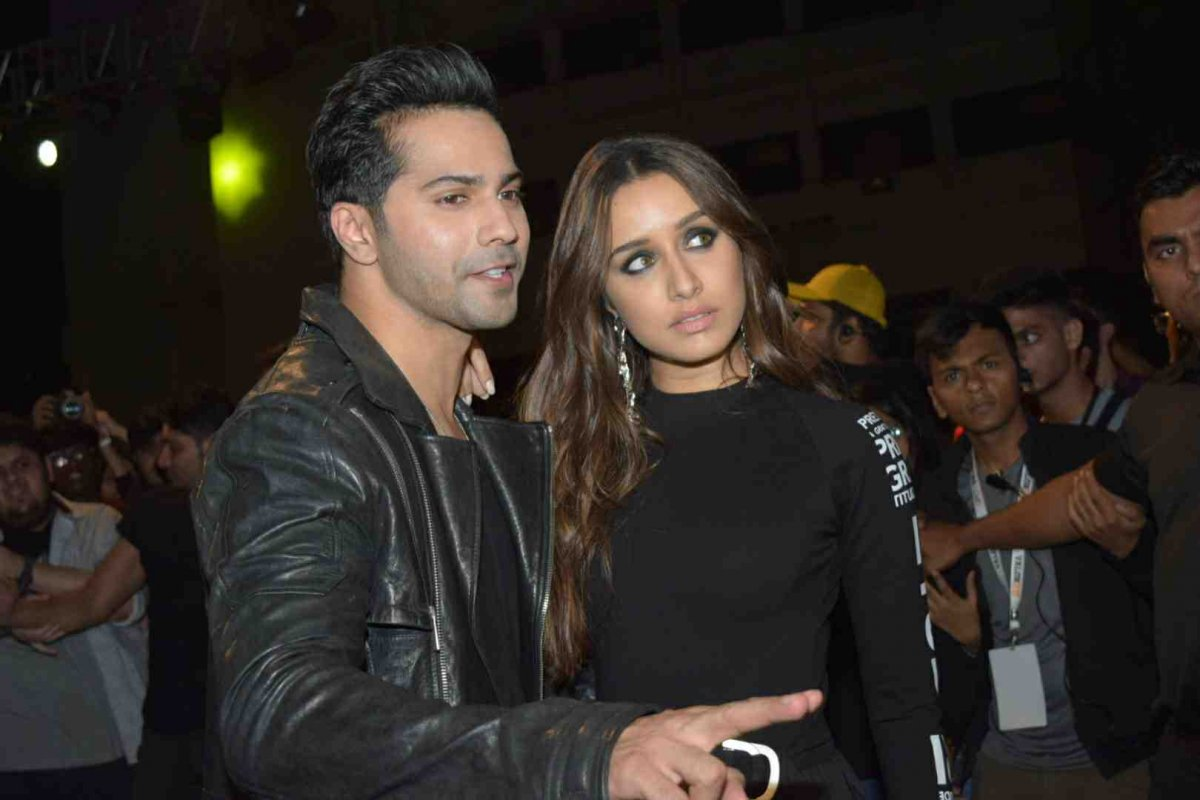 Varun Dhawan and Shraddha Kapoor for Street Dancer 3D promos