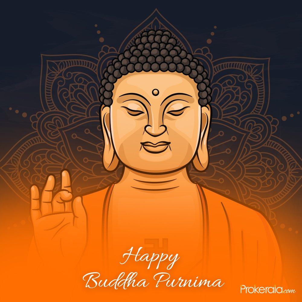 Happy Buddha Purnima (vesak) status