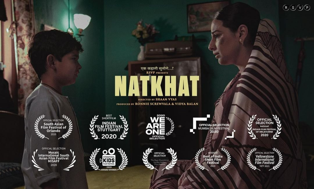 Vidya Balan expresses excitement over Natkhat's qualification for Oscar 2021