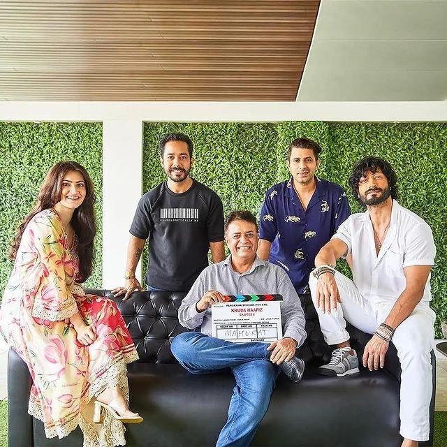Vidyut Jammwal and Shivaleeka Oberoi start shooting for Khuda Haafiz chapter II Agni Pariksha