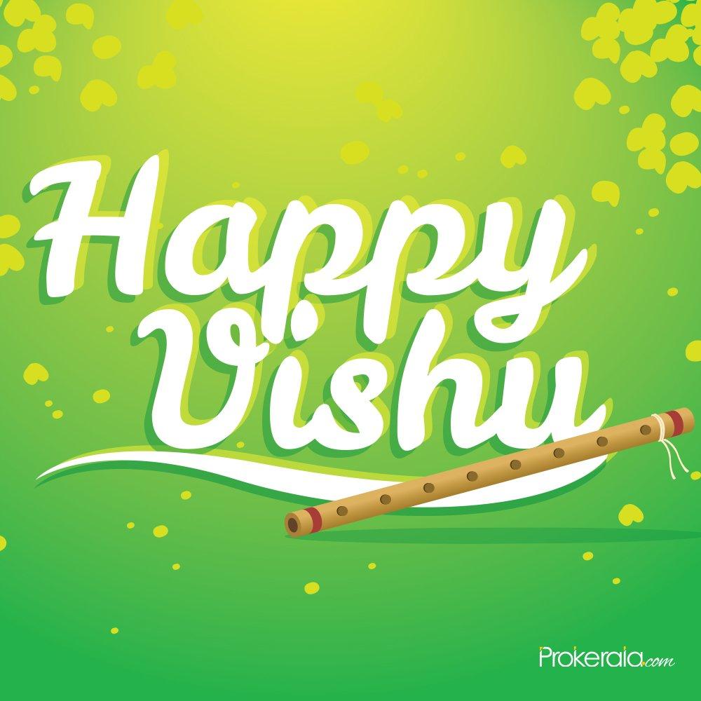Wishing you a blessed Vishu