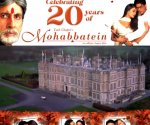 Amitabh Bachchan celebrates 20 years of Mohabbatein